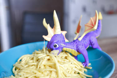 Spyro the Cheese noodles Dragon