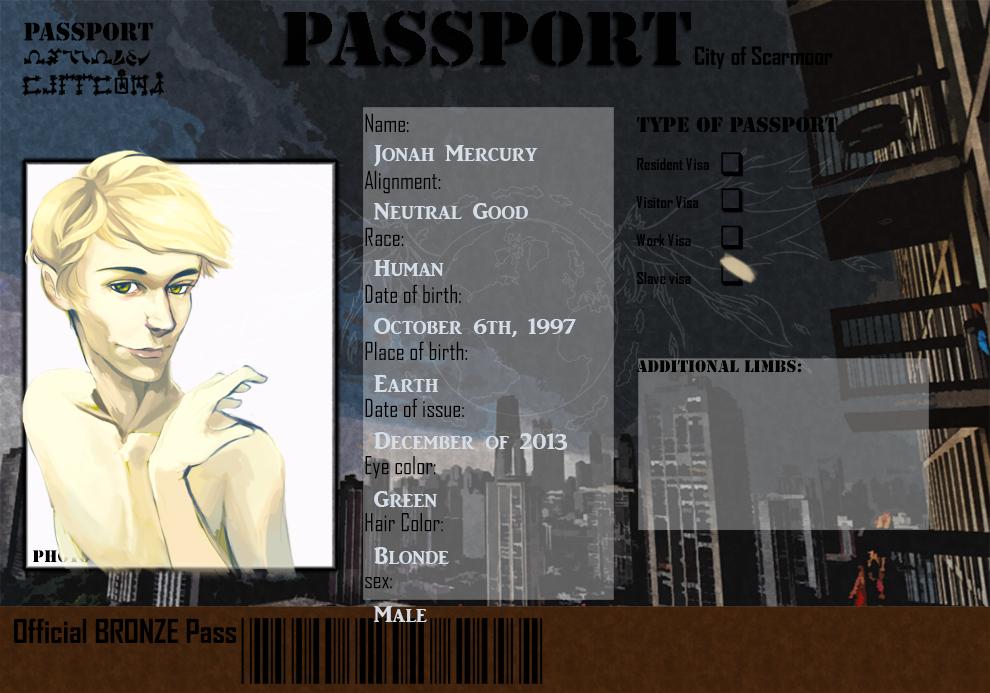 Jonahs passport by shadefeather413