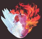 [Bnha]-Fire and Ice- by Schneefurz