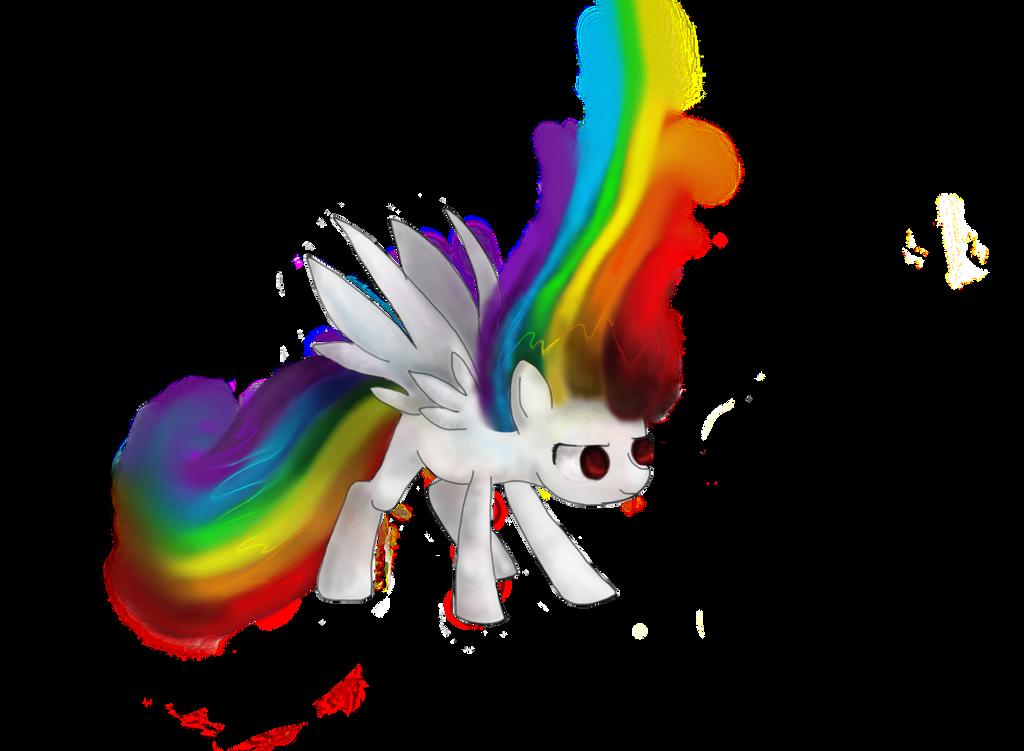 Super Rainbow Dash by sandwhich-ninja1