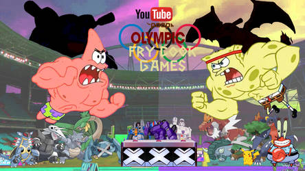 YouTube Poop Olympic Fry Cook Game by Artapon