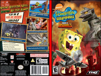 SpongeBob Squarepants Terror of MechaGodzilla DVD  by Artapon