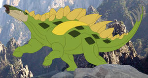 Gigantspinosaurus the Spirit of the Earth