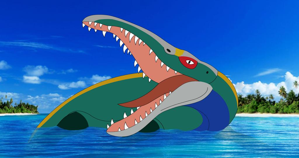 Pliosaurus (Predator X) the Rarest of the Water by Artapon