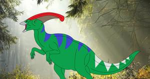 Parasaurolophus Leader of the Plant