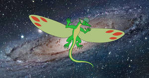 Coelurosauravus Leader of the Gravity