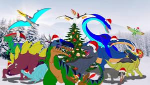 The Elemental Dinosaur's Christmas