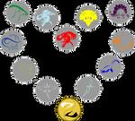 Elemental Dino Talismans