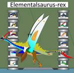 Elemental Hybrid Elementalsaurus-Rex