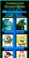 Monsters Inc Character Recast