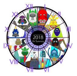 My 2018 Summary of Art by Artapon