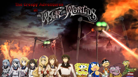 The Creepy Adventures in the War of the Worlds