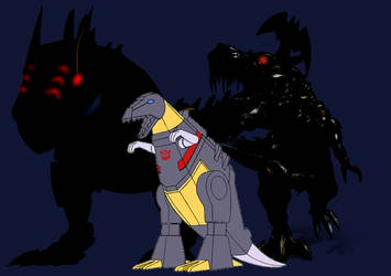 What if Grimlock is a Digimon and Digivolve