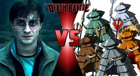Harry Potter vs The Foot Mystics