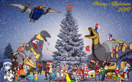 Cartoon Christmas 2020