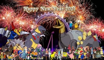 The Cartoon New Year 2021
