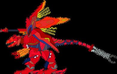 Giganotosaurus with the Byakushiki