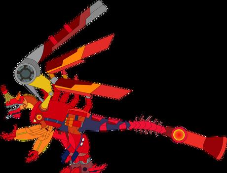Chilantaisaurus with the Byakushiki