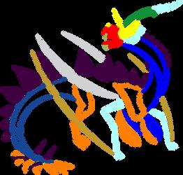 Elementalsaurus-Rex Symbol