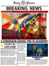 A Dinosaur Saved The IS Academy