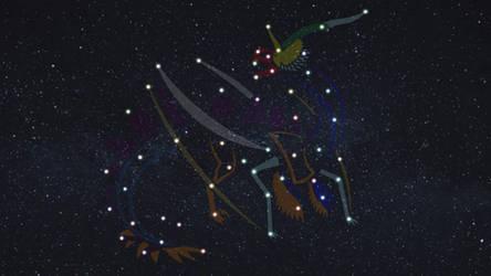 Elementalsaurus-Rex Constellation