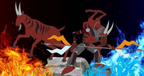 Capra dalii  Warrior of the Goat