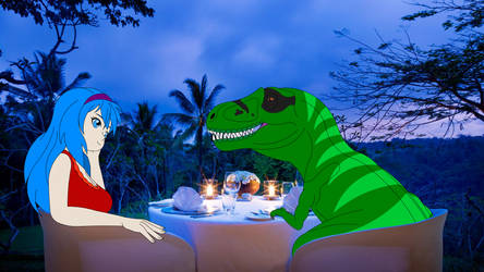 Rex and Alice Valintine's Day Dinner