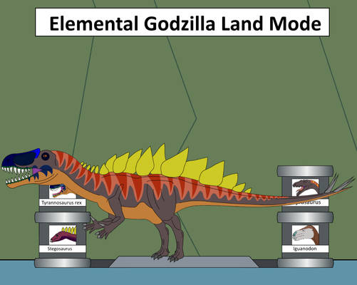Elemental Hybrid Elemental Godzilla Land Mode