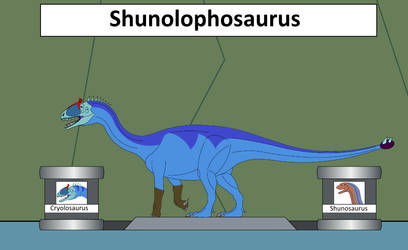 Elemental Hybrid Shunolophosaurus
