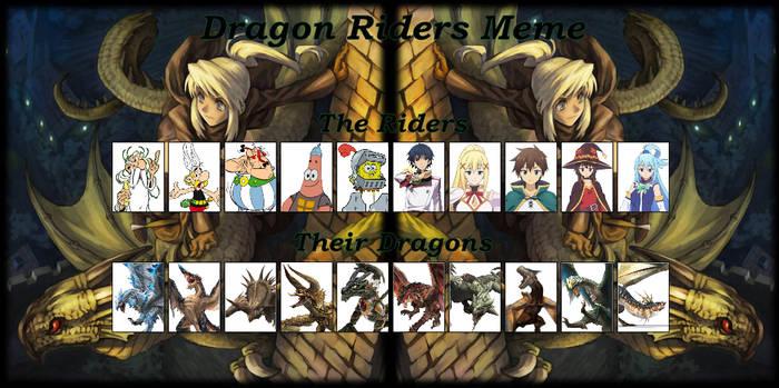 My Dragon Riders Meme