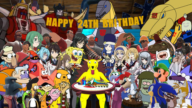My 24th birthday