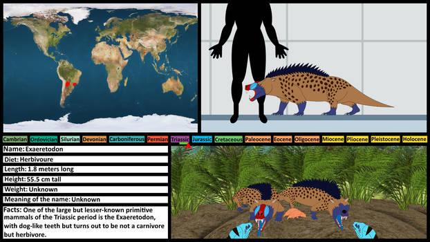 Prehistoric Profile Card: Exaeretodon