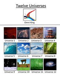 The Twelve Elemental Universes