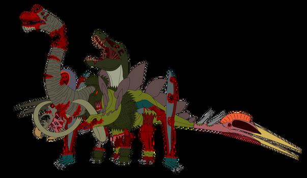 Zonkensteinosaurus #DAHorrorChallenge