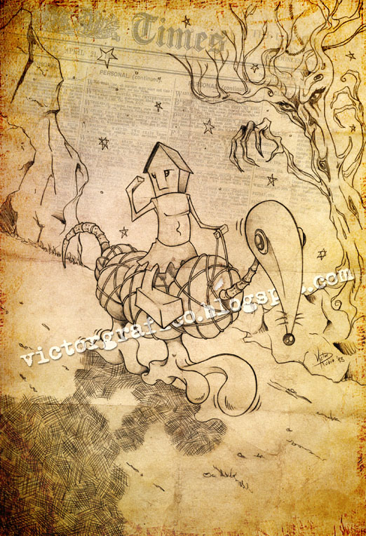 Rider Horse // Jinete y Caballo by victorgrafico