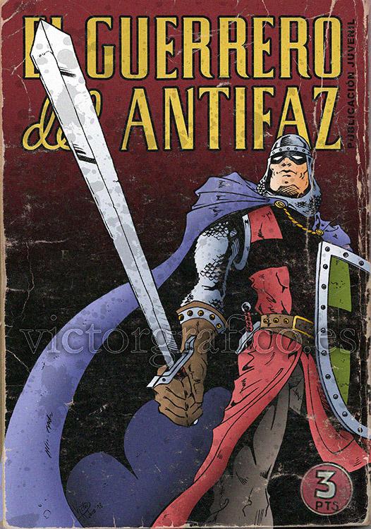 El Guerrero Antifaz by victorgrafico