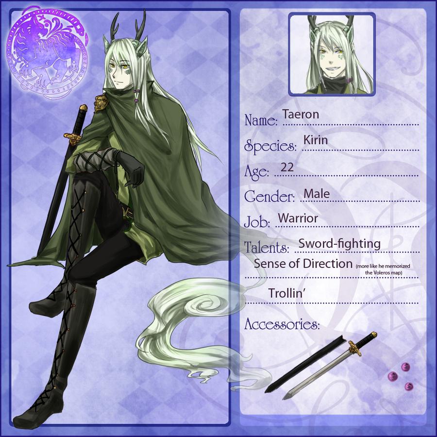 Volsa: Taeron by Usakan