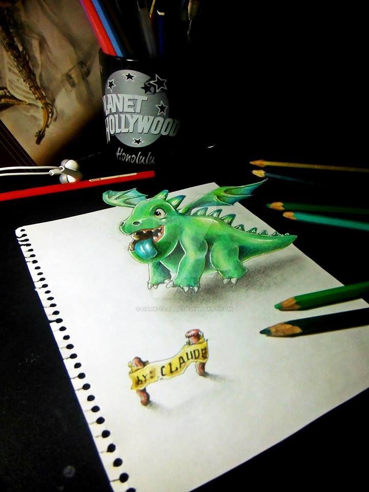 Baby Dragon By Dark Claude On Deviantart