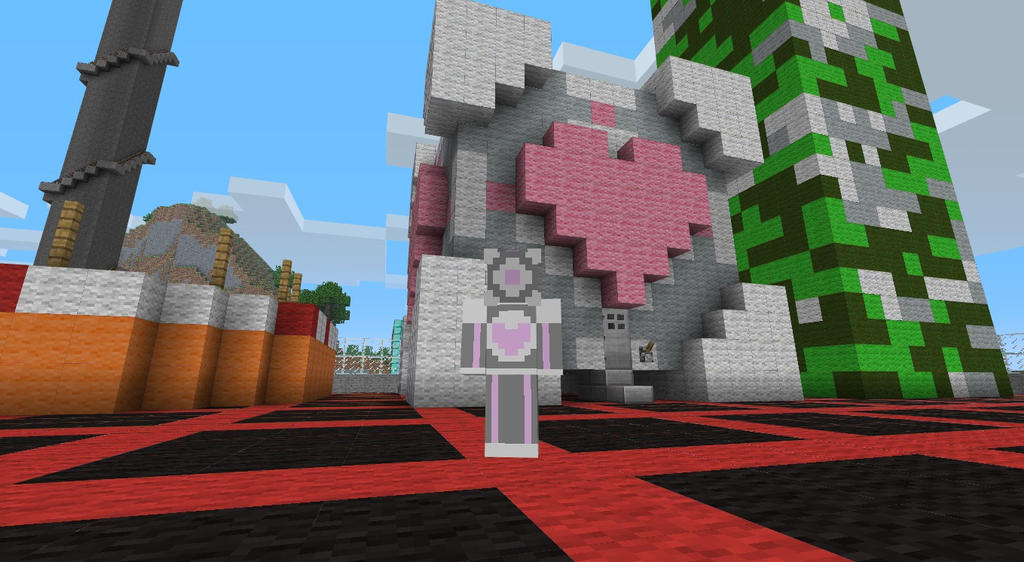 minecraft companion cube by lycansentry on deviantart