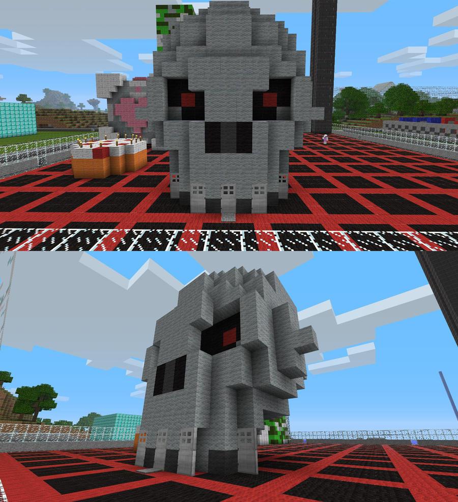 Minecraft - Skull by LycanSentry on DeviantArt