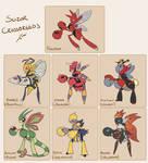Pokemon Crossbreeds: Scizor