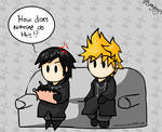 Xion Tries To Draw