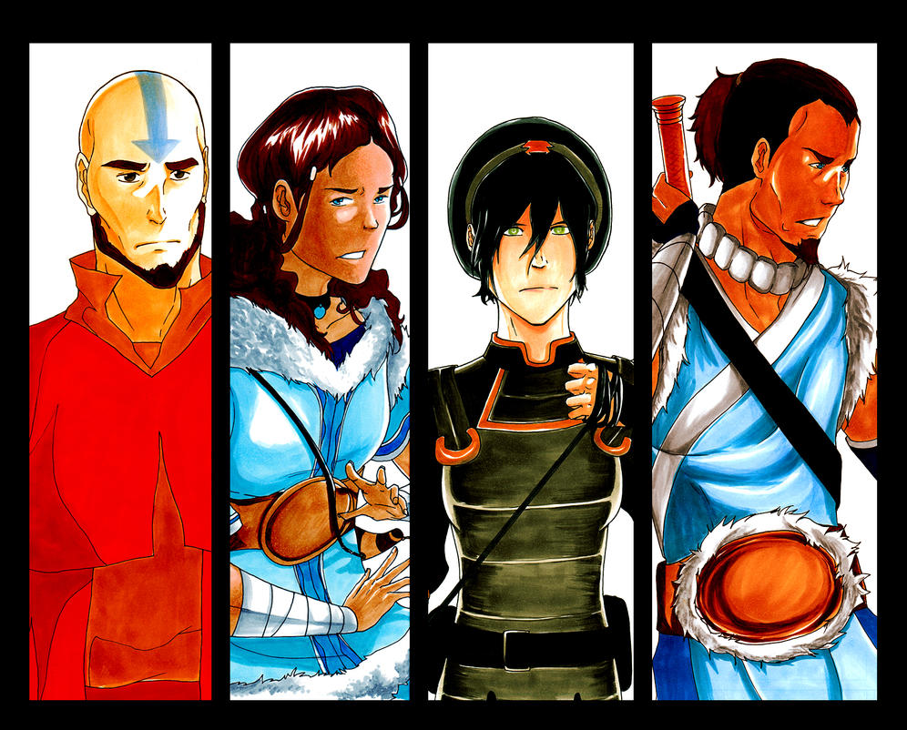 Team Avatar by Laikkuseia