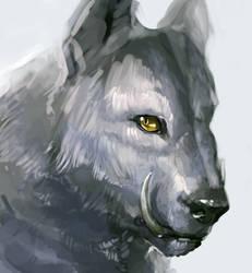 dumb wolfy thing
