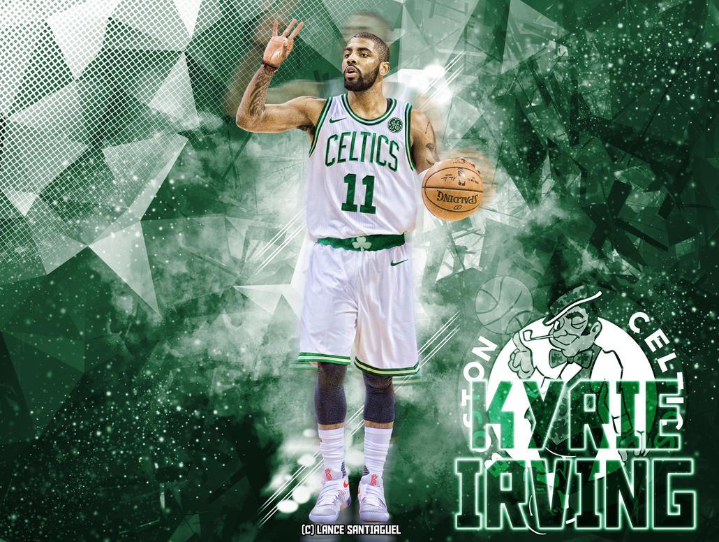 kyrie irving wallpaper  Kyrie Irving to Boston Celtics Fan Art by Lancetastic27 on DeviantArt
