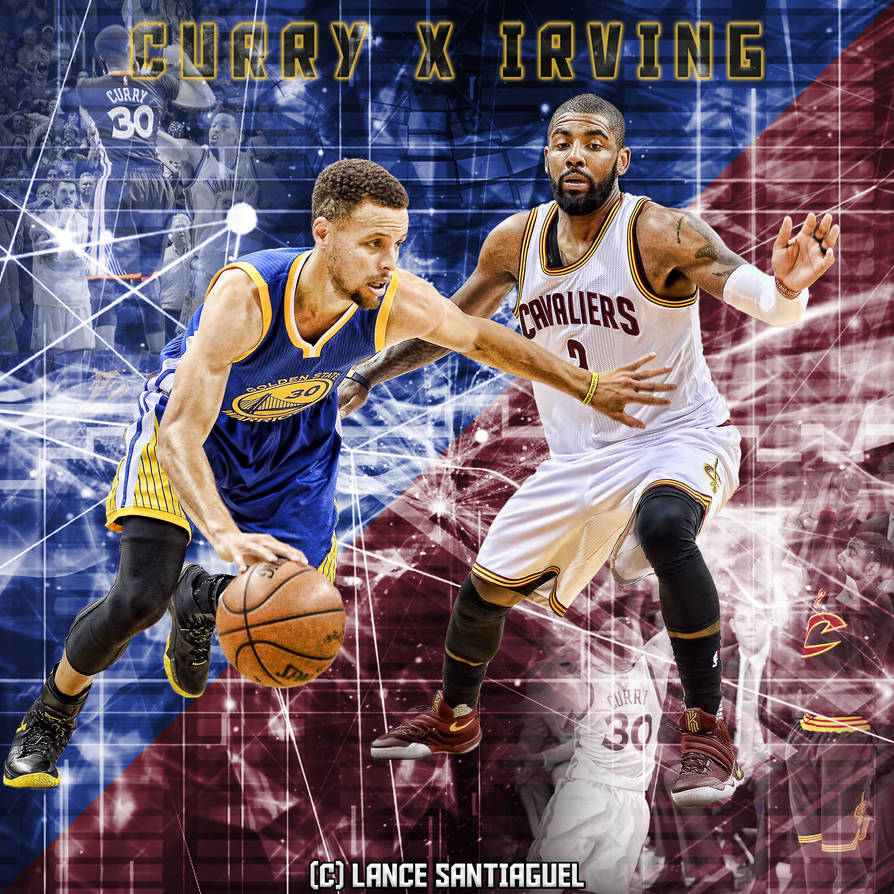 fcb3f90fef9e Stephen Curry Vs Kyrie Irving by Lancetastic27 on DeviantArt