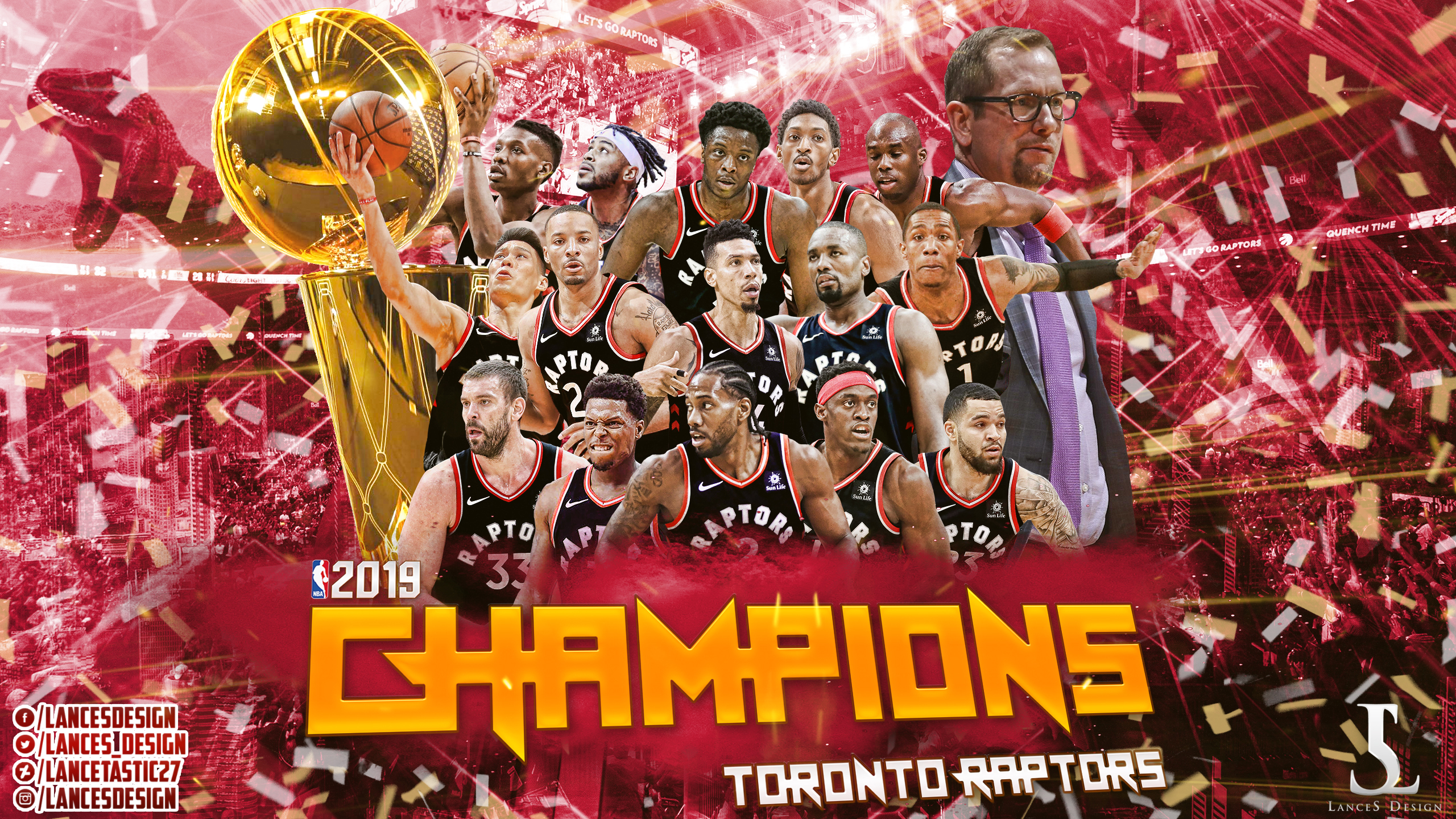 Toronto Raptors Nba Champions Wallpapers