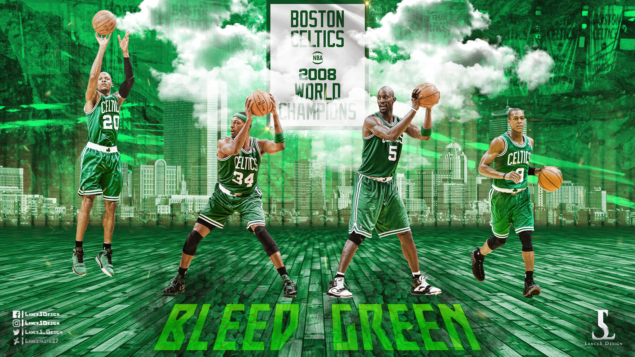 Boston Celtics Big 4 Wallpaper By Lancetastic27 On Deviantart