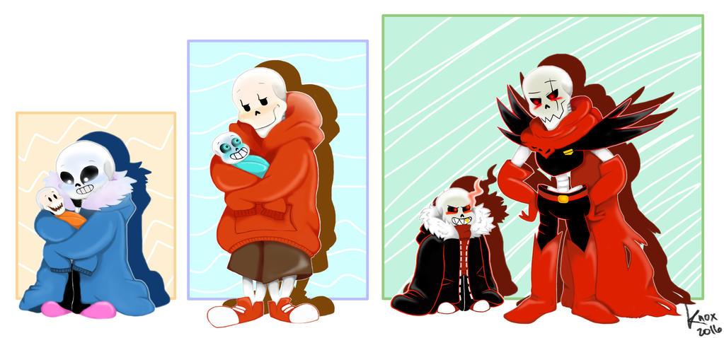 Baby Bones au - UT, US, UF by foxieknox ...