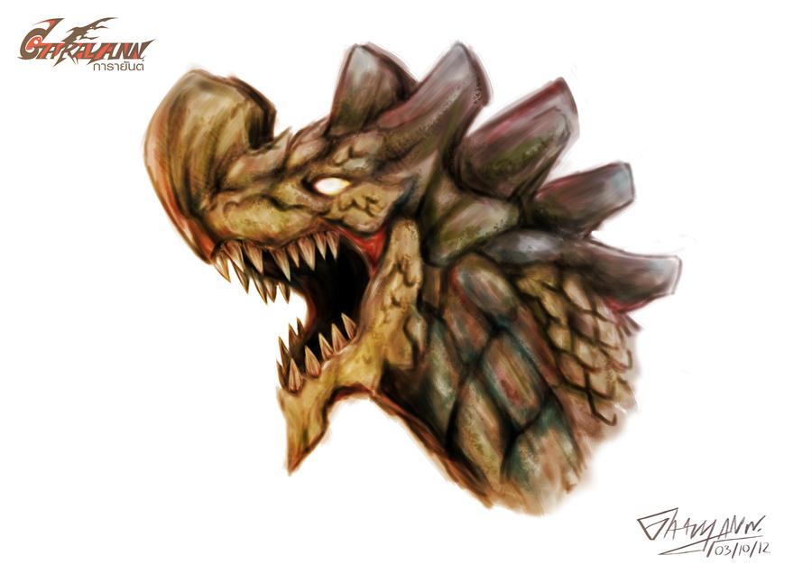 Garayann's head design by GARAYANN